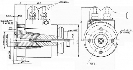 Электромагнит ЭМ26-1С